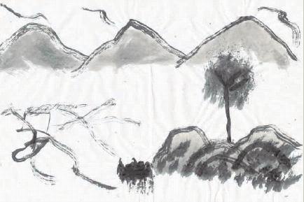 Paesaggio, G, Mastrangelo, 2004. Collezione FeiMo