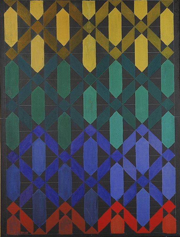 Compenetrazione iridescente n.13, Giacomo Balla, 1912, Archivio Dia Indire.