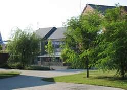 Esterno del Lycée Jacquard , Caudry, Nord Pas-de-Calais