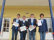 Tutti vincitori i ragazzi della squadra italiana