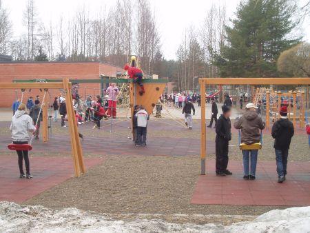area gioco all'aperto