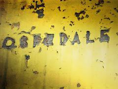 scritta sul muro ospedale
