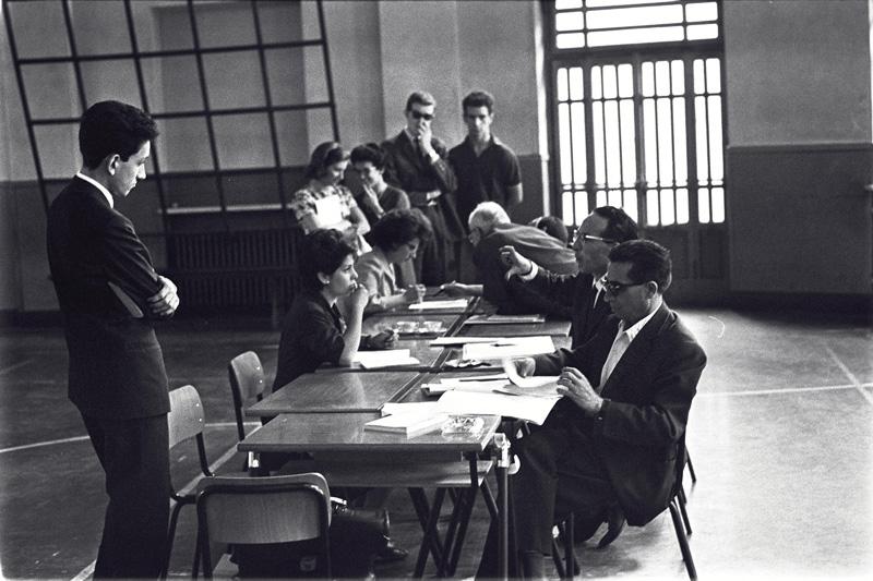 orale della maturità nel 1963