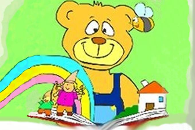 copertina del softwre, raffigurante un orsetto