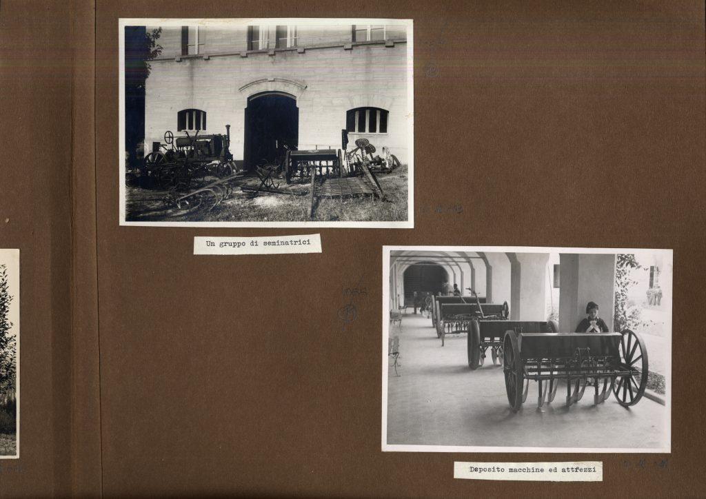 Album inviato al Museo Nazionale della Scuola di Firenze dall'Istituto Agrario di Todi: Archivio fotografico INDIRE