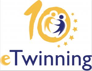 Logo per i dieci anni di eTwinning