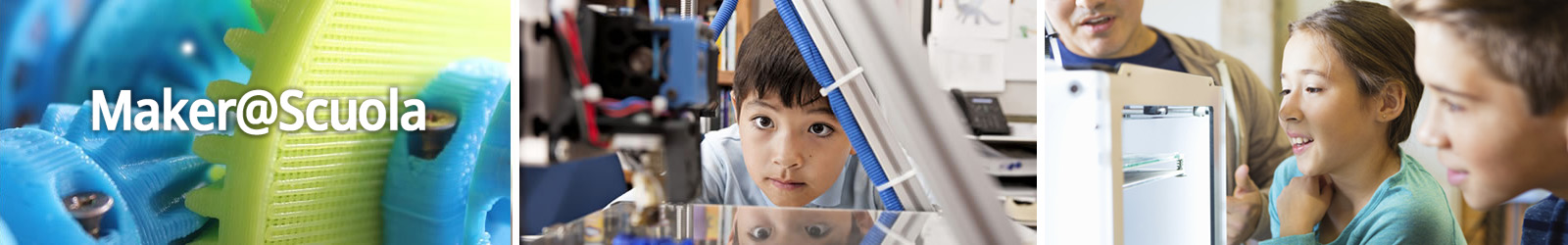 maker a scuola, stampati 3d