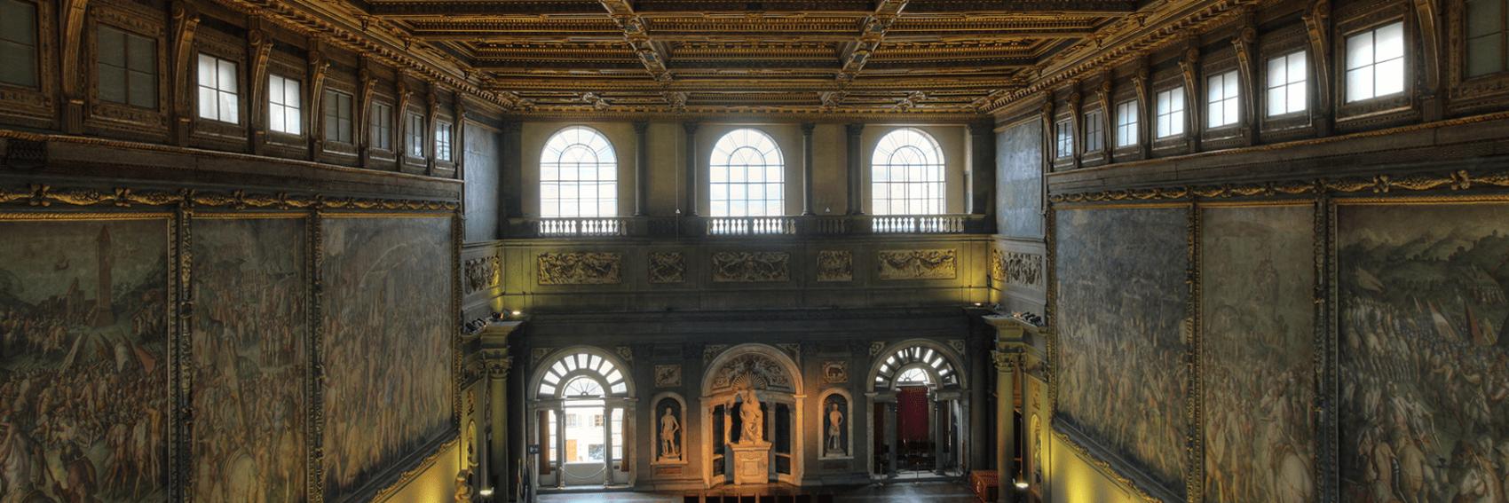 salone dei Cinquecento, Palazzo Vecchio, Firenze