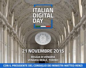 Italian digital day a villa Venaria,Torino