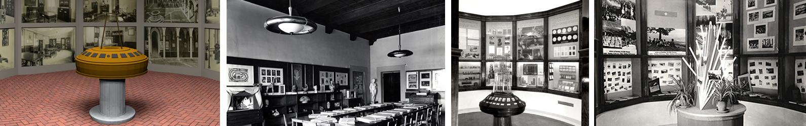 foto del museo virtuale e del museo nel 1929