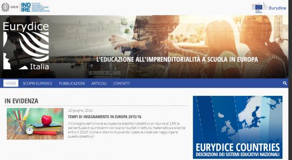 Preview sito eurydice