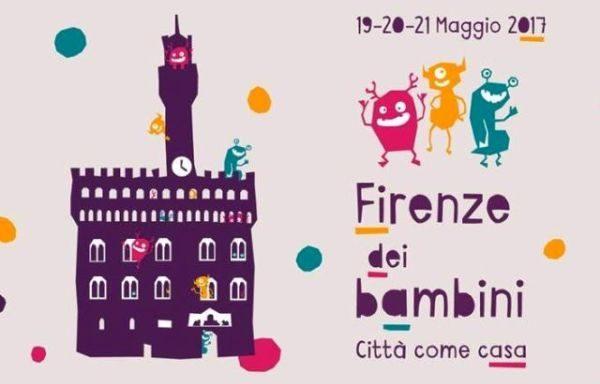 """""""Firenze dei bambini"""", appuntamento nel capoluogo toscano dal 19 al 21 maggio"""
