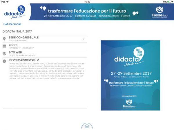 Didacta Italia, nasce la App per scoprire tutti i servizi offerti dalla manifestazione