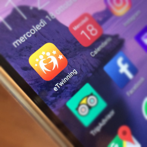 Due super novità per eTwinning: l'App ufficiale e 500mila docenti sulla piattaforma