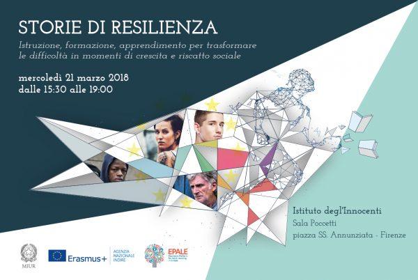 """Presentazione e premiazione del concorso """"Storie di Resilienza"""" a Firenze"""