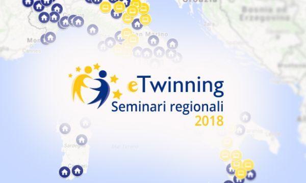 Seminari regionali eTwinning, online la mappa degli oltre 150 appuntamenti previsti