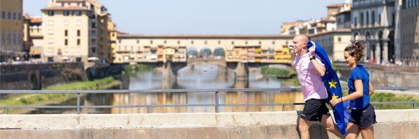 Erasmus+ partecipa a Corri la Vita il 29 settembre a Firenze