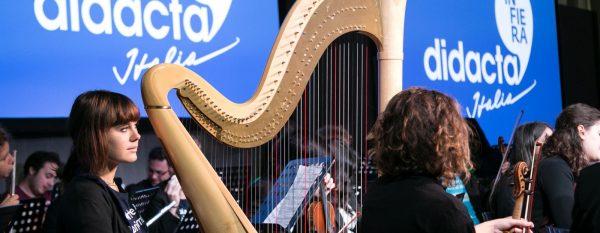La musica dell'Orchestra Erasmus inaugura Fiera Didacta 2019