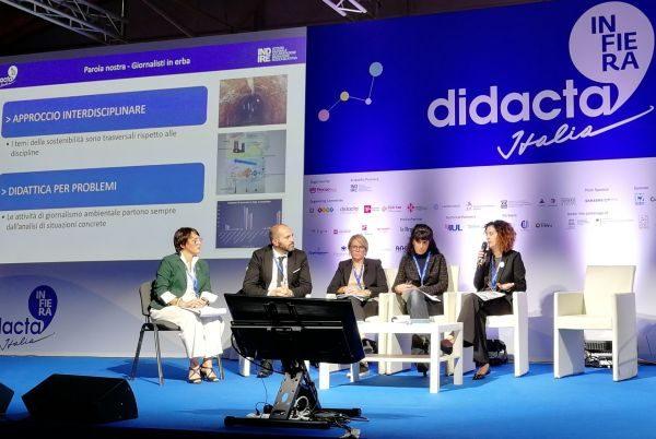 """""""Scuola2030: P come Pianeta"""", i video del grande convegno sulla sostenibilità organizzato a Didacta 2019"""
