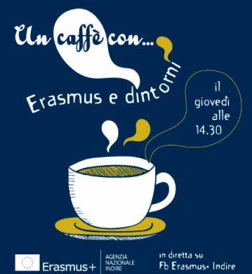 Un caffè con Erasmus e dintorni: tutti i giovedì incontri e storie di resilienza