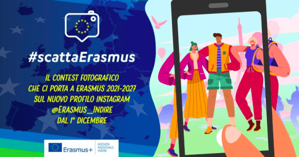 Dal 1 dicembre via al contest fotografico #scattaErasmus