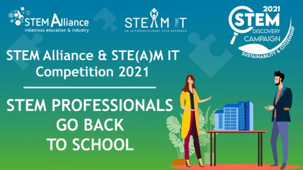 Il progetto STE(A)M IT lancia la Professionals Go Back to School Competition